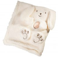 پتو نوزادی خرگوش مهتاک «گلبهی»