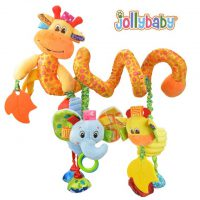 آویز تخت نوزاد و کودک زرافه جولی بی بی «Jollybaby»