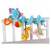 آویز تخت نوزاد و کودک فیل آبی جولی بی بی «Jollybaby»
