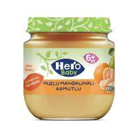 پوره مخلوط نارنگی، موز و گلابی هرو بیبی Hero baby