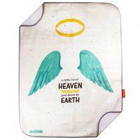 زیرانداز تعویض نوزاد Die Ruhe طرح Heaven