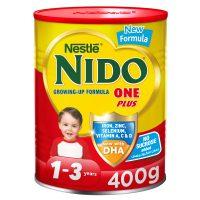 شیر خشک نیدو NIDO عسلی 400 گرمی مناسب1تا3سال
