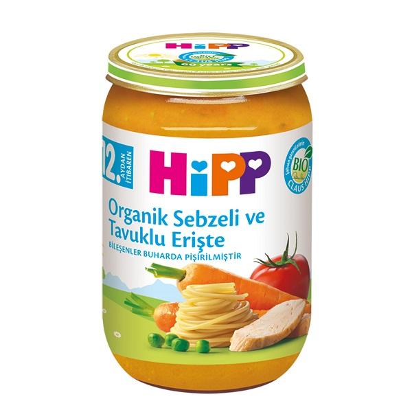 سوپ مرغ،ماكاروني و سبزيجات هيپ220گرم