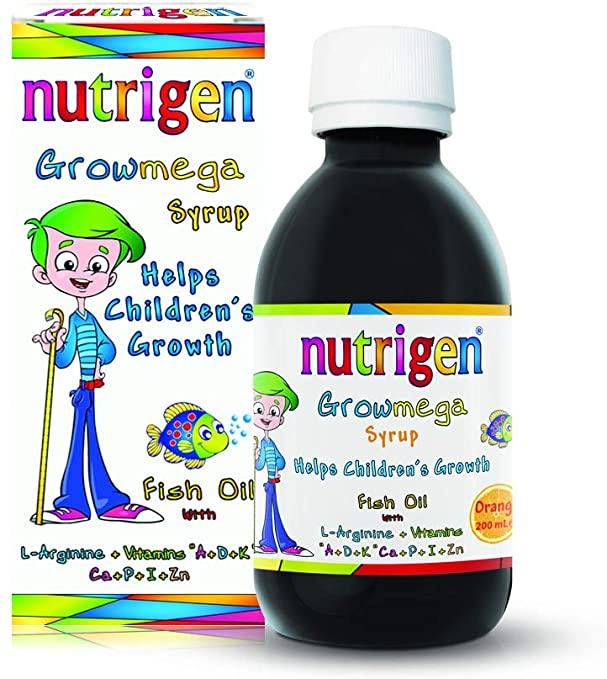 شربت مولتی ویتامین افزایش قد کودک نوتریژن nutrigen