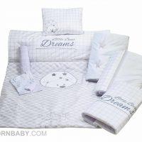 سرویس خواب هفت تکه رزبرن مدل LITTLE DREAM