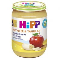 پوره سیب، موز و گندم هیپ Hipp